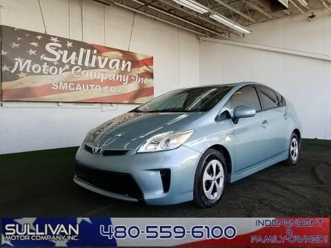 2014 Toyota Prius for sale at SULLIVAN MOTOR COMPANY INC. in Mesa AZ