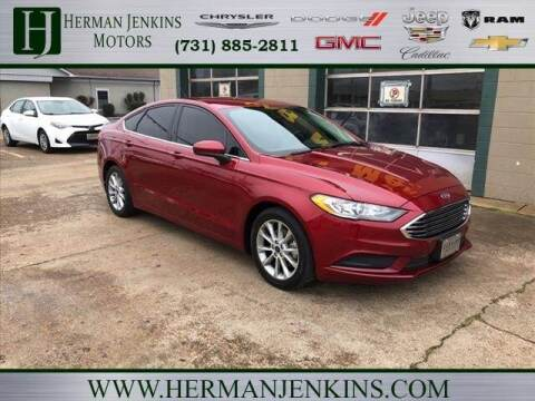 2017 Ford Fusion for sale at Herman Jenkins Used Cars in Union City TN