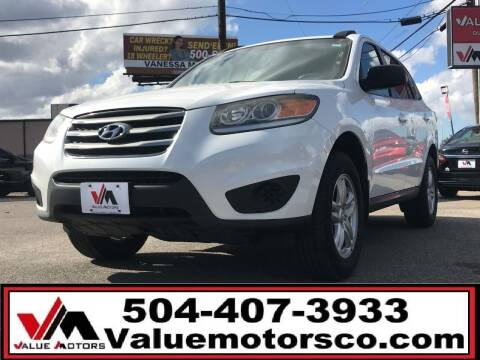 2012 Hyundai Santa Fe for sale at Value Motors Company in Marrero LA