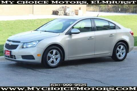 2012 Chevrolet Cruze for sale at My Choice Motors Elmhurst in Elmhurst IL