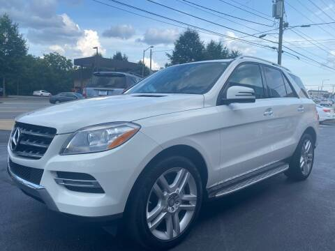 2014 Mercedes-Benz M-Class for sale at Viewmont Auto Sales in Hickory NC