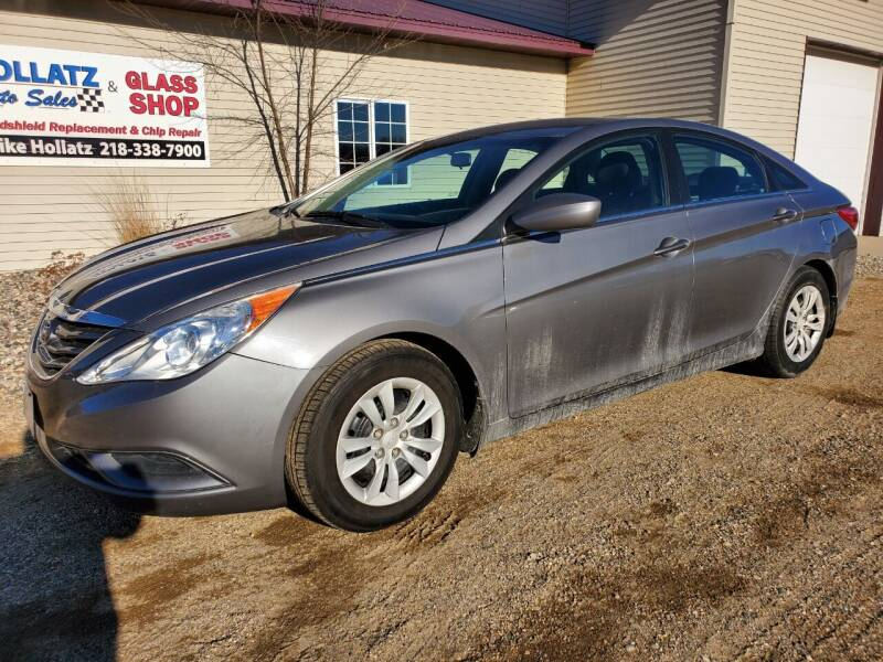 2011 Hyundai Sonata for sale at Hollatz Auto Sales in Parkers Prairie MN