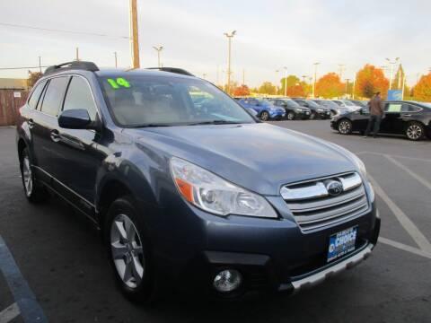 2014 Subaru Outback for sale at Choice Auto & Truck in Sacramento CA