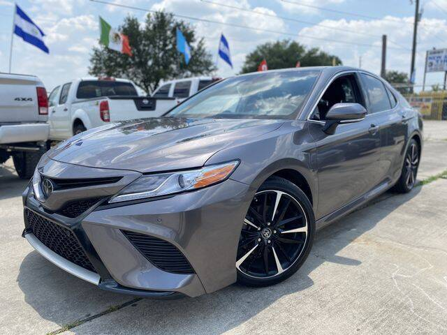 2018 Toyota Camry for sale at Prestige Motor Cars in Houston TX