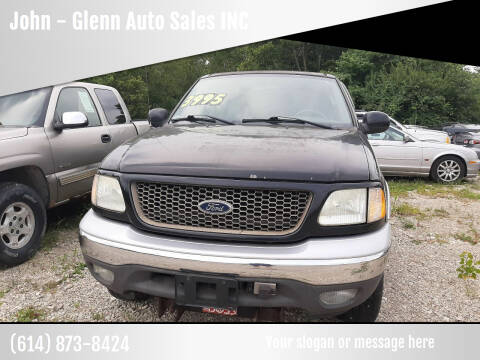 2003 Ford F-150 for sale at John - Glenn Auto Sales INC in Plain City OH