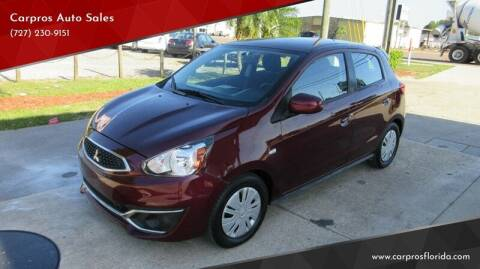 2017 Mitsubishi Mirage for sale at Carpros Auto Sales in Largo FL