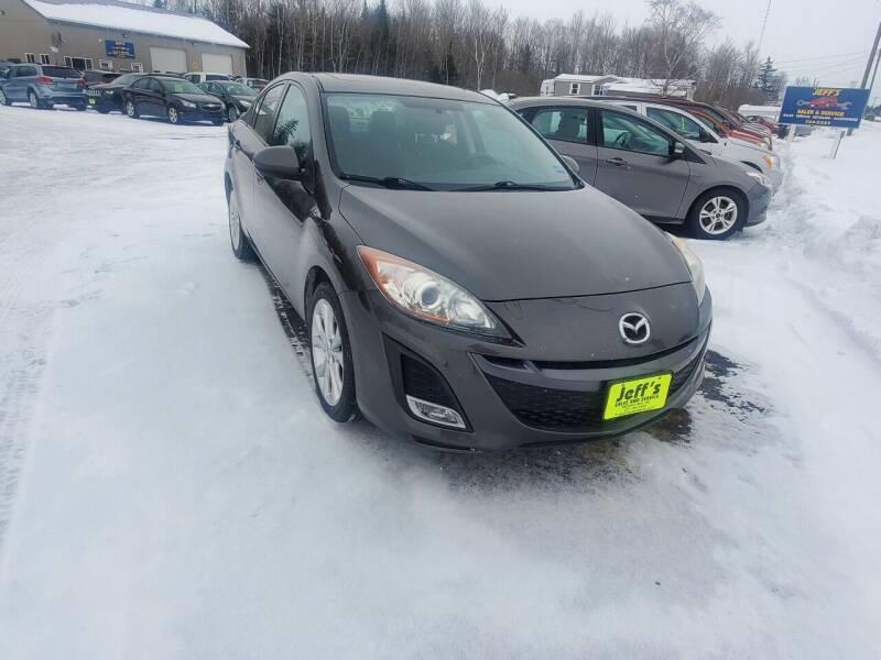 2011 Mazda MAZDA3 for sale at Jeff's Sales & Service in Presque Isle ME