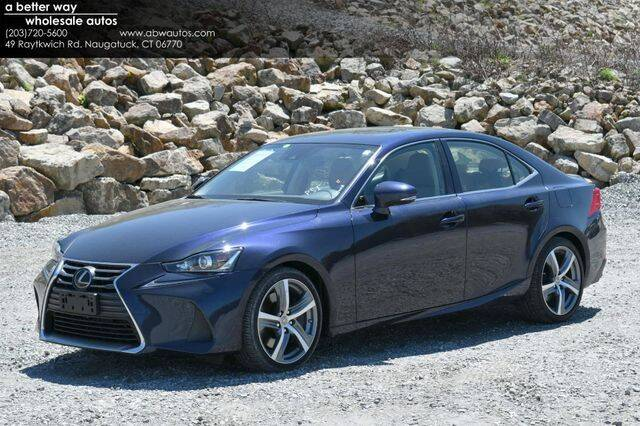 2018 Lexus IS 300 for sale in Naugatuck, CT