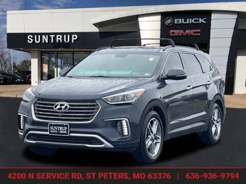 2017 Hyundai Santa Fe for sale at SUNTRUP BUICK GMC in Saint Peters MO