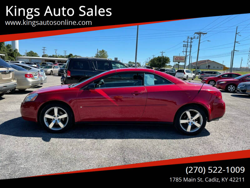 2006 Pontiac G6 for sale at Kings Auto Sales in Cadiz KY
