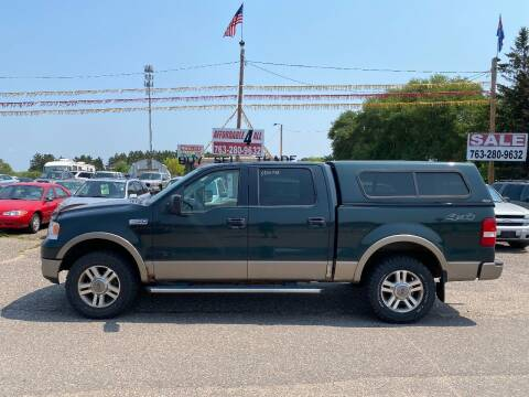 2005 Ford F-150 for sale at Affordable 4 All Auto Sales in Elk River MN