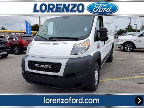 2020 RAM ProMaster Cargo for sale at Lorenzo Ford in Homestead FL