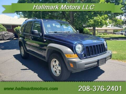 2007 Jeep Liberty for sale at HALLMARK MOTORS LLC in Boise ID