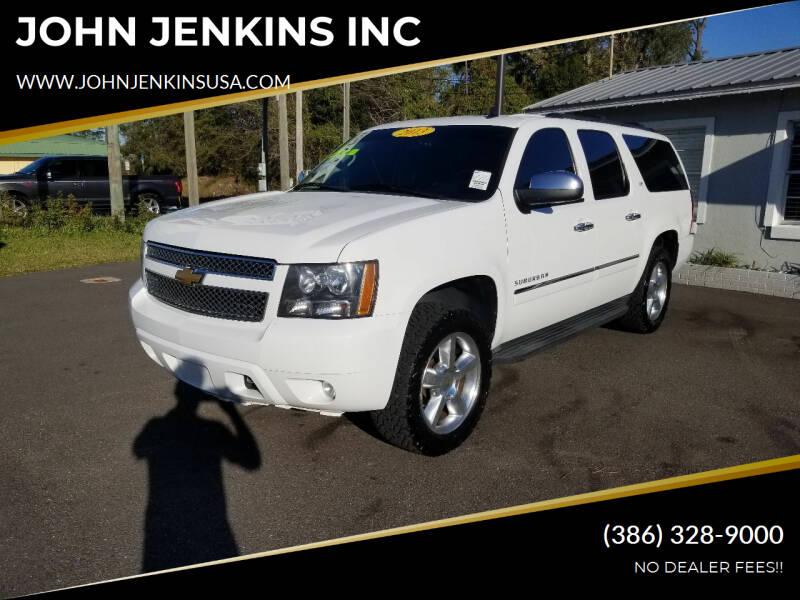 2013 Chevrolet Suburban for sale at JOHN JENKINS INC in Palatka FL