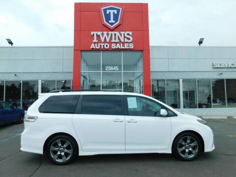 2019 Toyota Sienna for sale at Twins Auto Sales Inc Redford 1 in Redford MI