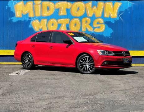 2016 Volkswagen Jetta for sale at Midtown Motors in San Jose CA