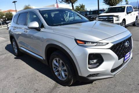 2019 Hyundai Santa Fe for sale at DIAMOND VALLEY HONDA in Hemet CA