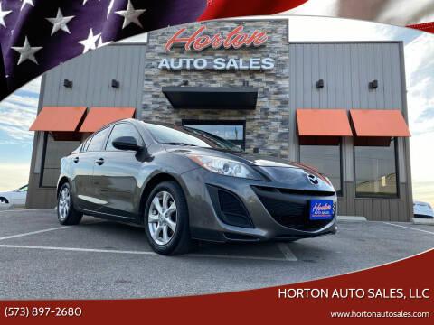 2011 Mazda MAZDA3 for sale at HORTON AUTO SALES, LLC in Linn MO