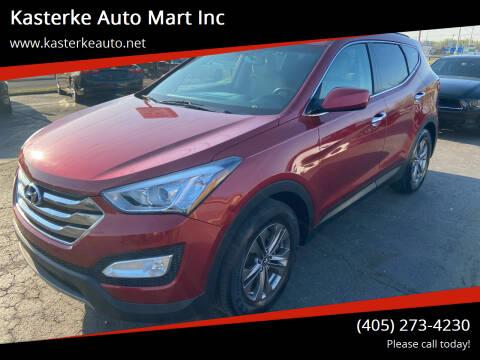 2014 Hyundai Santa Fe Sport for sale at Kasterke Auto Mart Inc in Shawnee OK
