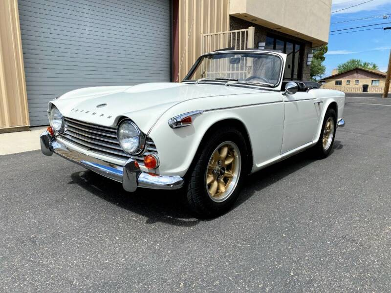 1966 Triumph TR4 for sale at ENTHUSIAST MOTORS LLC in Safford AZ