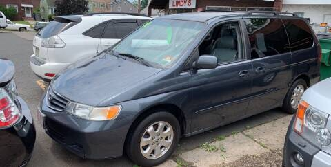 2004 Honda Odyssey for sale at Frank's Garage in Linden NJ