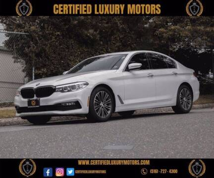 2018 BMW 5 Series for sale at Certified Luxury Motors in Great Neck NY