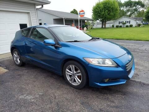 2012 Honda CR-Z for sale at CALDERONE CAR & TRUCK in Whiteland IN