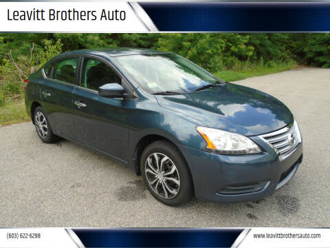2014 Nissan Sentra for sale at Leavitt Brothers Auto in Hooksett NH