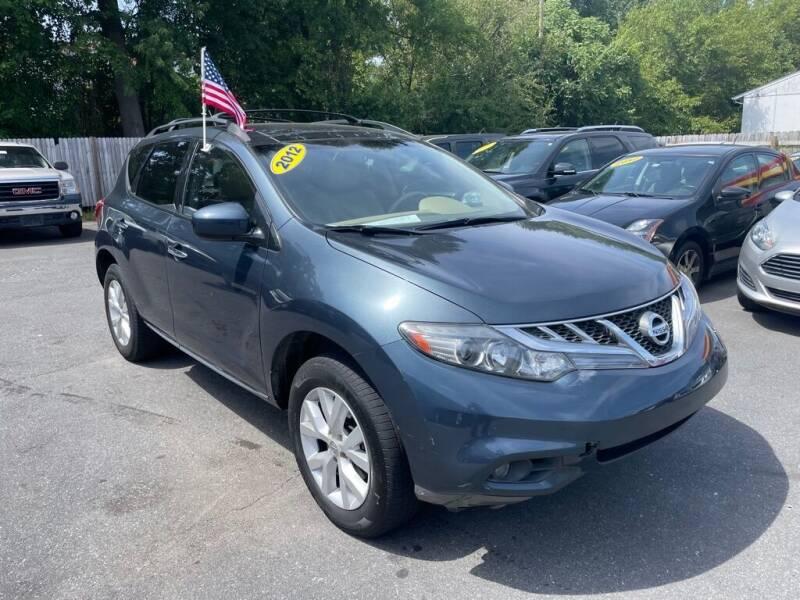 2012 Nissan Murano for sale at Auto Revolution in Charlotte NC