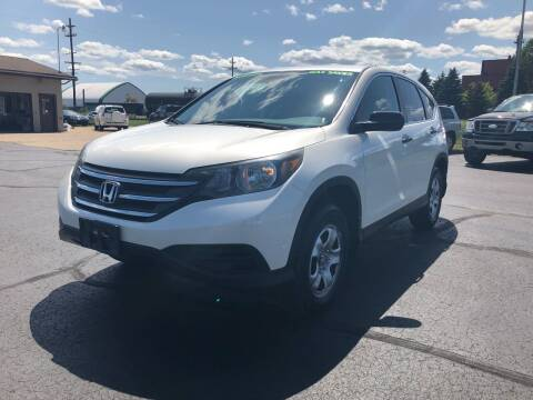 2013 Honda CR-V for sale at Mike's Budget Auto Sales in Cadillac MI