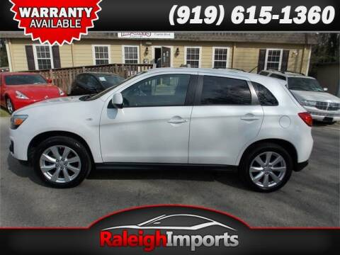 2014 Mitsubishi Outlander Sport for sale at Raleigh Imports in Raleigh NC