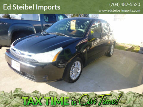 2010 Ford Focus for sale at Ed Steibel Imports in Shelby NC