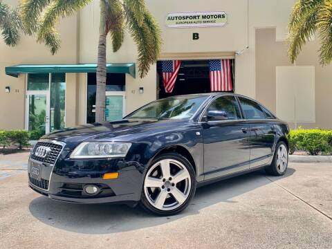2008 Audi A6 for sale at AUTOSPORT MOTORS in Lake Park FL