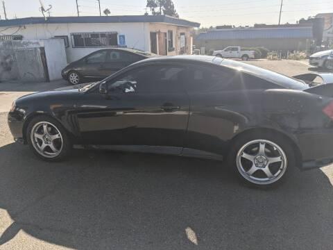 2004 Hyundai Tiburon for sale at Gold Coast Motors in Lemon Grove CA