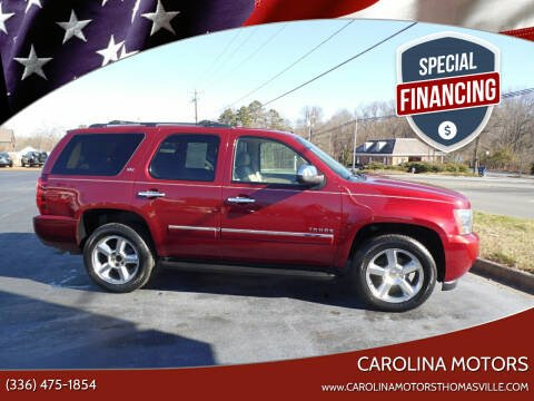 2011 Chevrolet Tahoe for sale at CAROLINA MOTORS in Thomasville NC