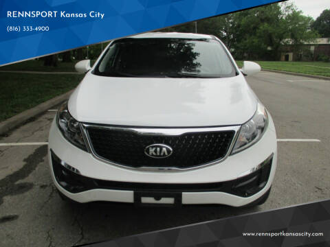 2016 Kia Sportage for sale at RENNSPORT Kansas City in Kansas City MO
