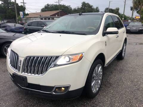 2013 Lincoln MKX for sale at CHECK  AUTO INC. in Tampa FL