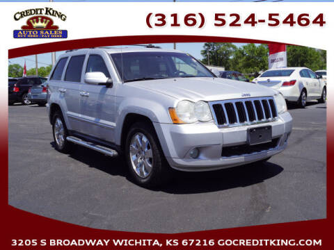 2010 Jeep Grand Cherokee for sale at Credit King Auto Sales in Wichita KS