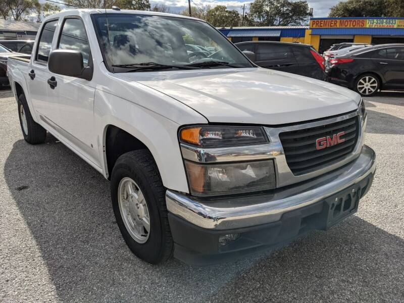 2008 GMC Canyon for sale at PREMIER MOTORS OF PEARLAND in Pearland TX