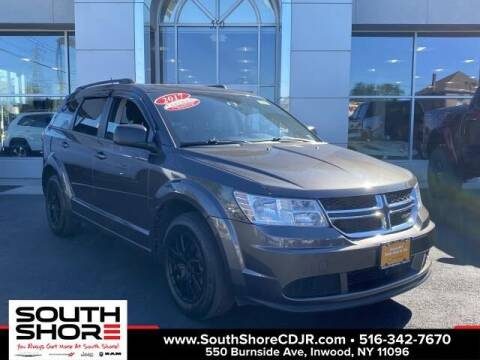 2017 Dodge Journey for sale at South Shore Chrysler Dodge Jeep Ram in Inwood NY
