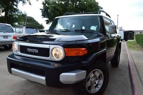 2008 Toyota FJ Cruiser for sale at E-Auto Groups in Dallas TX