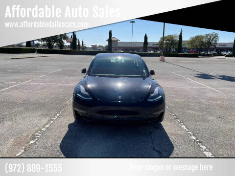 2018 Tesla Model 3 for sale at Affordable Auto Sales in Dallas TX