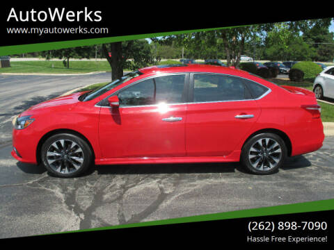 2017 Nissan Sentra for sale at AutoWerks in Sturtevant WI