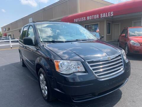 2009 Chrysler Town and Country for sale at Payless Motor Sales LLC in Burlington NC