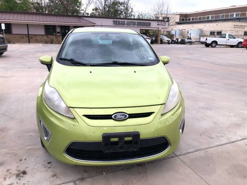 2011 Ford Fiesta for sale at Texas Auto Broker in Killeen TX