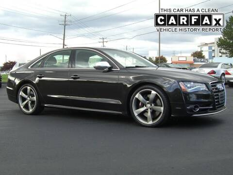 2013 Audi S8 for sale at Atlantic Car Company in Windsor Locks CT