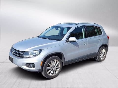 2012 Volkswagen Tiguan for sale at Fitzgerald Cadillac & Chevrolet in Frederick MD