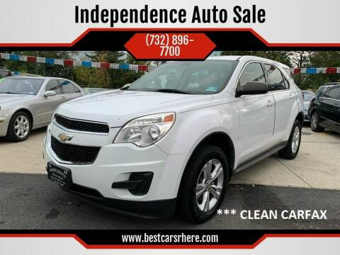 2011 Chevrolet Equinox for sale at Independence Auto Sale in Bordentown NJ