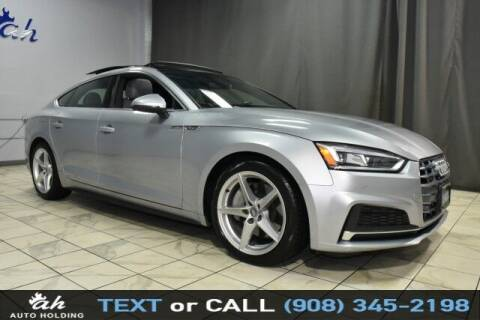 2018 Audi A5 Sportback for sale at AUTO HOLDING in Hillside NJ