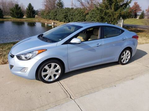 2012 Hyundai Elantra for sale at Exclusive Automotive in West Chester OH
